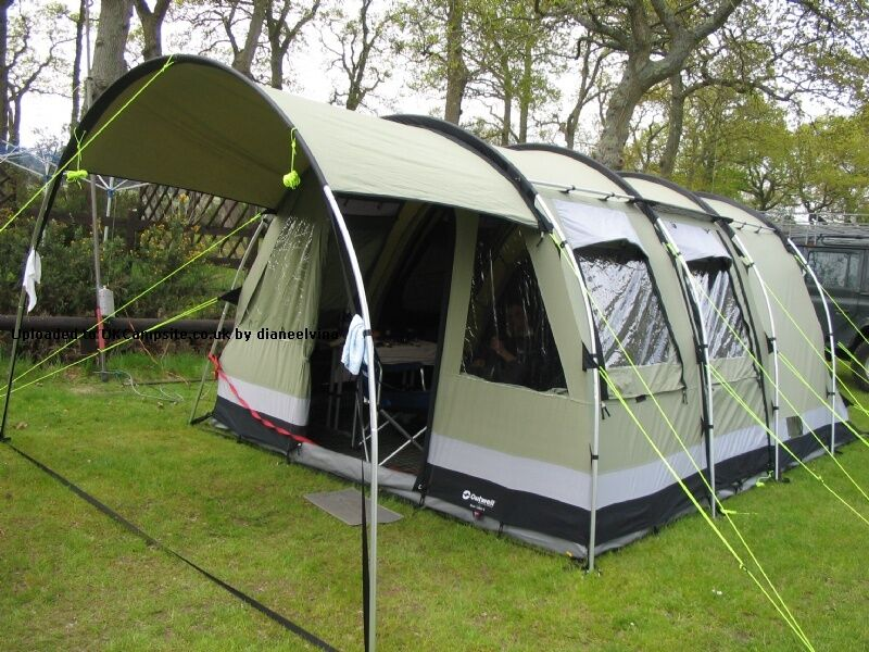 Outwell Bear Lake 6 Six Berth Tent & Outwell Bear Lake 6 Six Berth Tent | in Biddulph Staffordshire ...