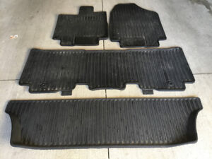 2018 Honda Odyssey Original Winter Floor Mats, Like New!