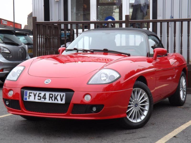 2004 Fiat Barchetta 1.8 16V 2dr [LHD] 2 Door Convertible