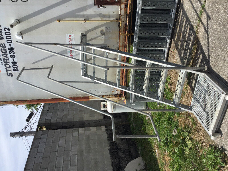 Metal Tech Scaffold Stairs With Handrails | Ladders U0026 Scaffolding | City Of  Toronto | Kijiji