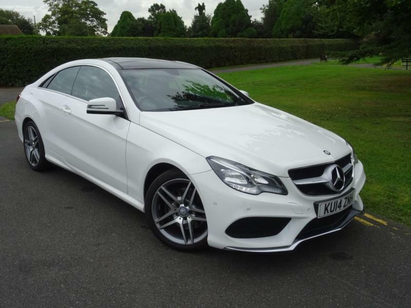 Great MERCEDES E CLASS E350 CDI BLUETEC AMG SPORT COUPE 2014/14