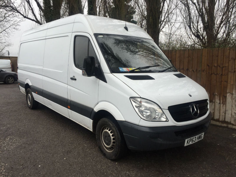 2013 63 Mercedes Benz Sprinter 2.1TD 313CDI LWB 6 SPEED 38.7 MPG 4 METERS