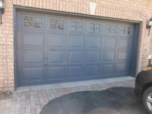 Windowed Single Garage Door 14u0027 ...