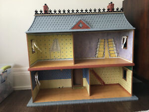 Madeline Doll House Complete Set With Horse Stables