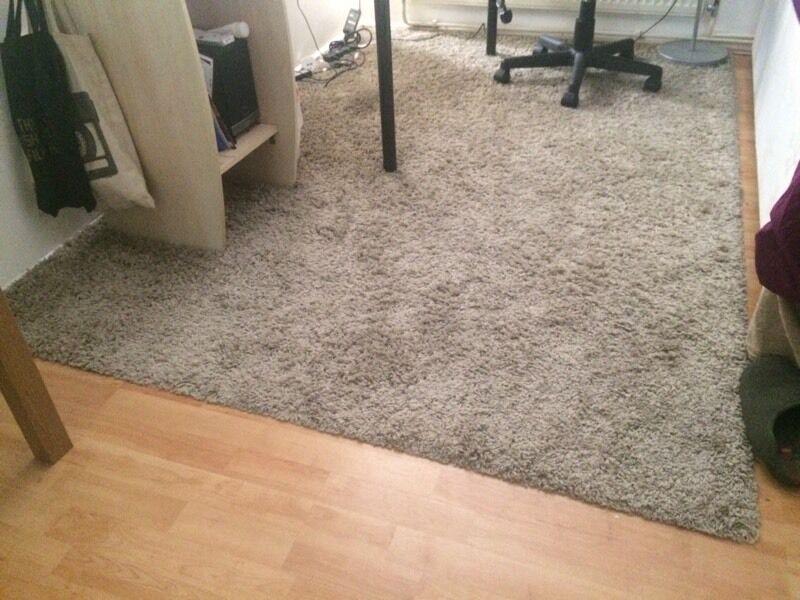 Ikea 230 X 160 Cm Rug Carpet, Beige