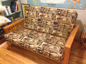 Wooden Frame 7th Heaven Futon Reduced Price
