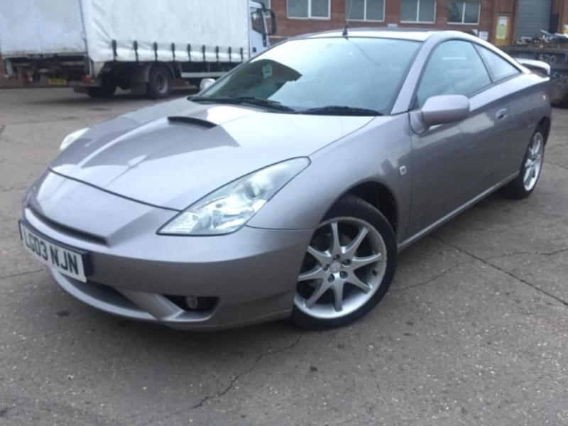 Toyota Celica 1.8 VVTL I T Sport Manual 2 Door Silver Great History 128k  LEATHER