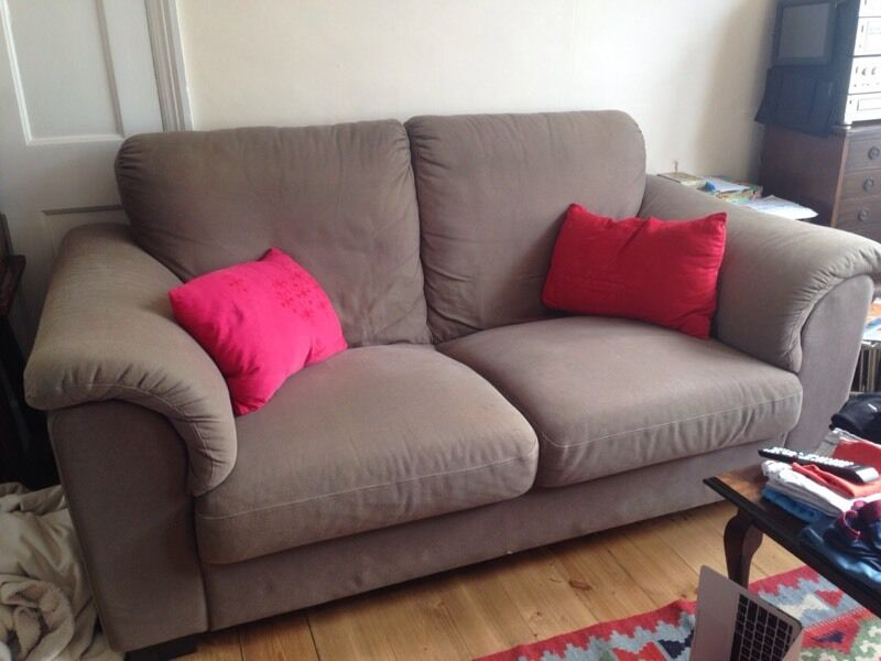 IKEA Tidafors Sofa REDUCED, 2 Seater. HENSTA Light Brown