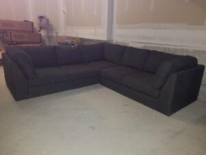 EQ3 Salema 2 Piece Sectional Sofa   Fabric