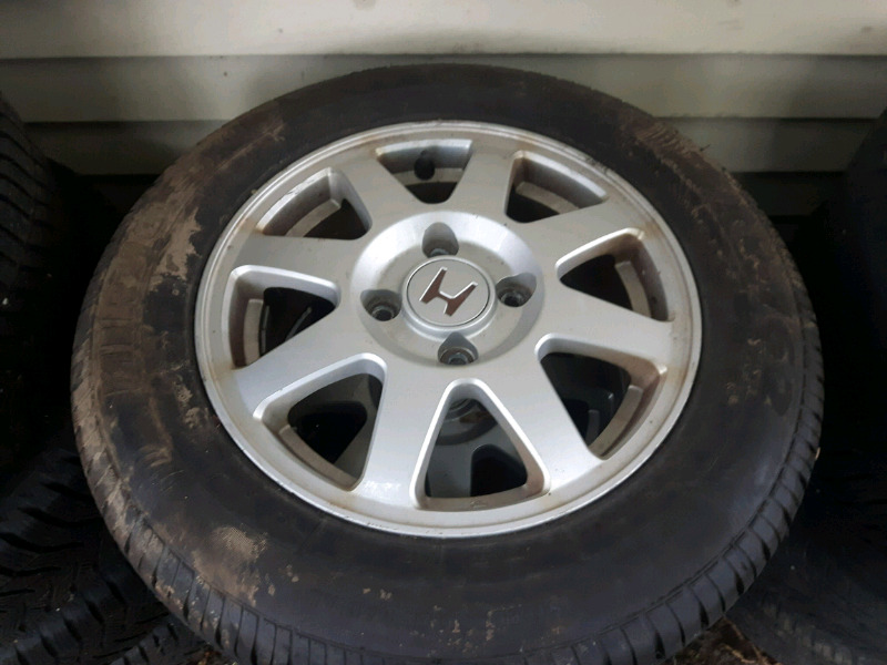 Description. I Have 4 Tires And Alloy Rims From A 2001 Honda Accord ...