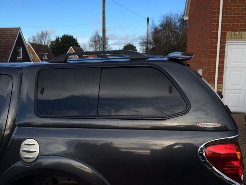 SJS adventurer canopy in dark grey L200 LWB & SJS adventurer canopy in dark grey L200 LWB | in Kings Lynn ...