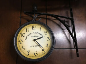 grand central terminal wall mount clock double sided