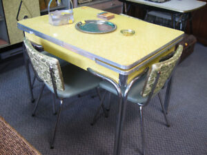 chrome  u0026 arborite kitchen table  u0026 4 chrome chairs arborite kitchen table   kijiji in ontario    buy sell  u0026 save      rh   kijiji ca