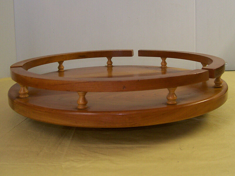 how to make a lazy susan table