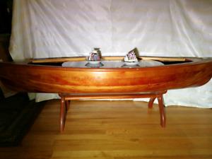 Un Uniques Meubles Bateau Canot 5 Pieds Coffee Table Canoe