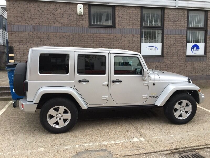 Jeep Wrangler Sahara Unlimited Diesel
