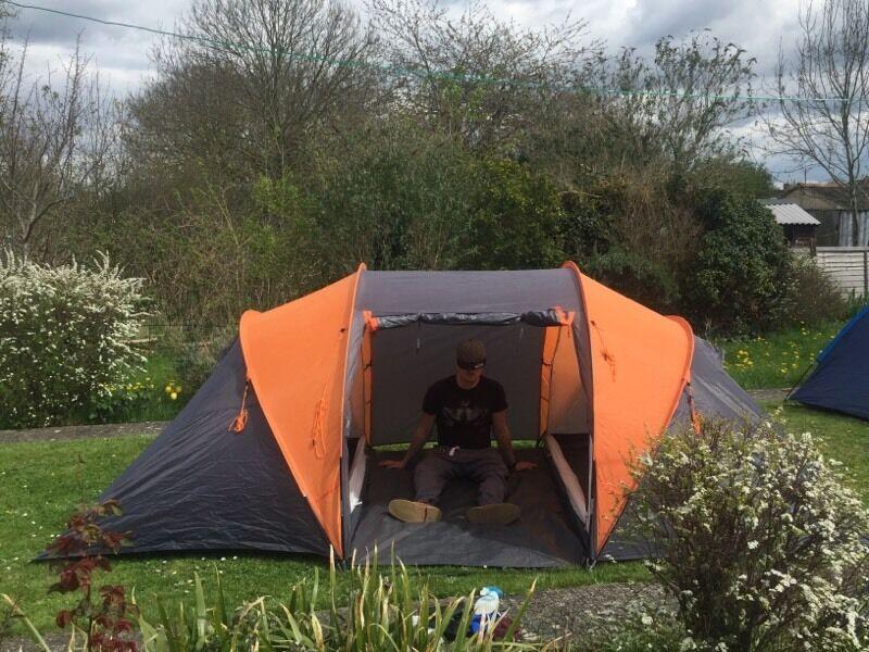 Aventura 4 man 2 bedroom tent & Aventura 4 man 2 bedroom tent | in Glastonbury Somerset | Gumtree