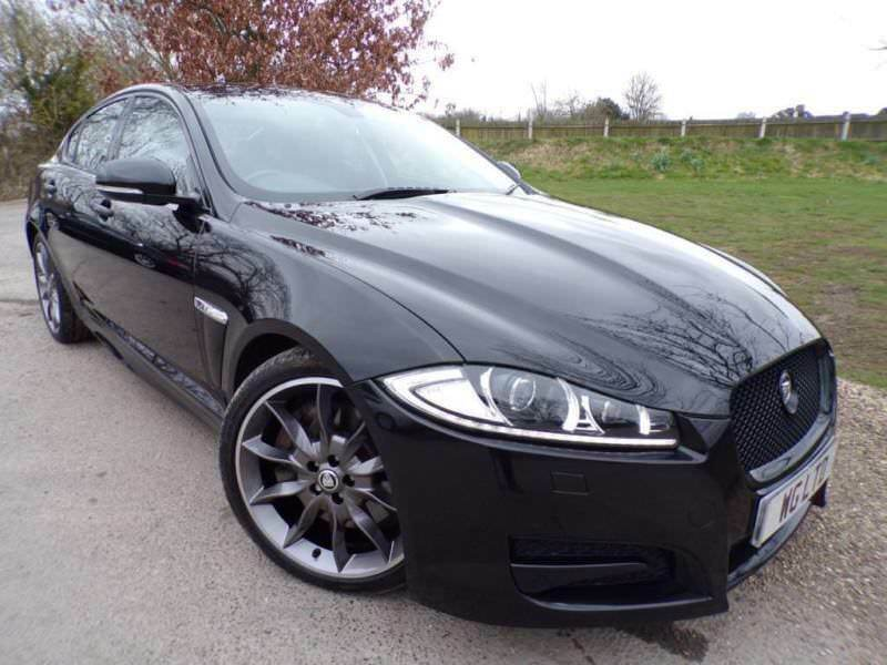 2013 Jaguar XF 3.0 V6 Supercharged Premium Luxury 4dr Auto Black Pack! 20in  D.