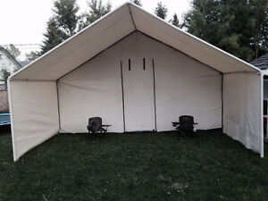 14x16 wall tent with 5ft porch and full frame & Wall Tent | Buy or Sell Fishing Camping u0026 Outdoor Equipment in ...