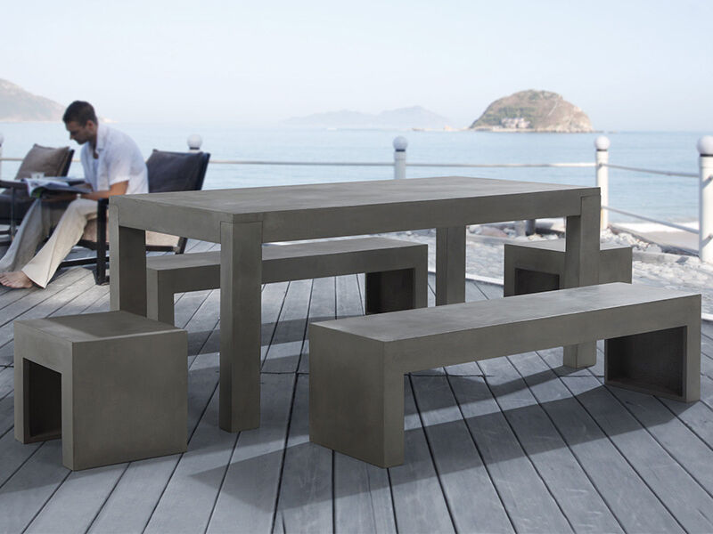 How To Make A Concrete Patio Table