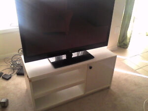 white tv stand for sale appox north whitby 30