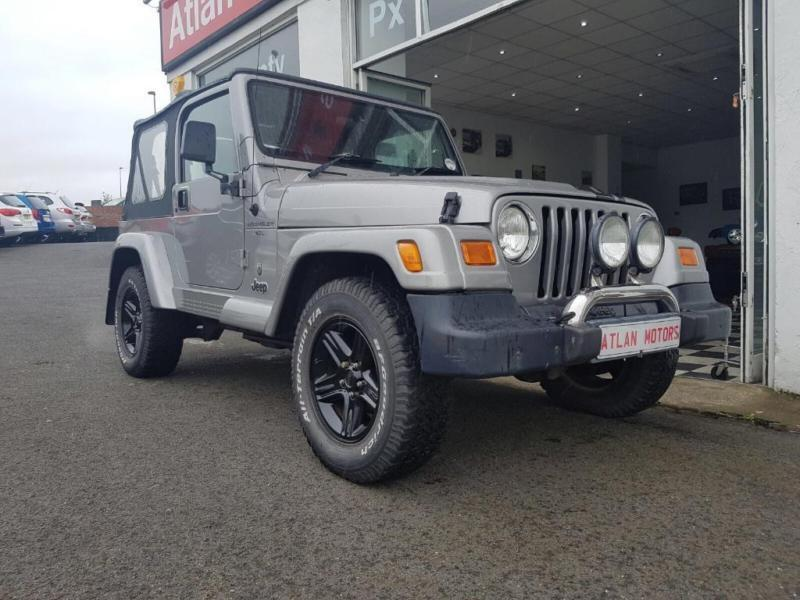 2001 Jeep Wrangler 4.0 60th Anniversary Soft Top 4x4 3dr