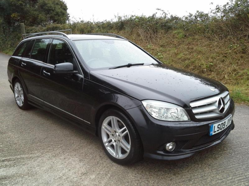 2009 Mercedes Benz C200 2.1TD Auto Sport DAMAGED SPARES OR REPAIR SALVAGE