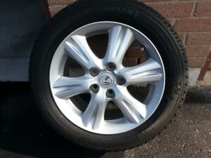 Snow Tires, Rims And TPMS From A Lexus IS250   205/55/16