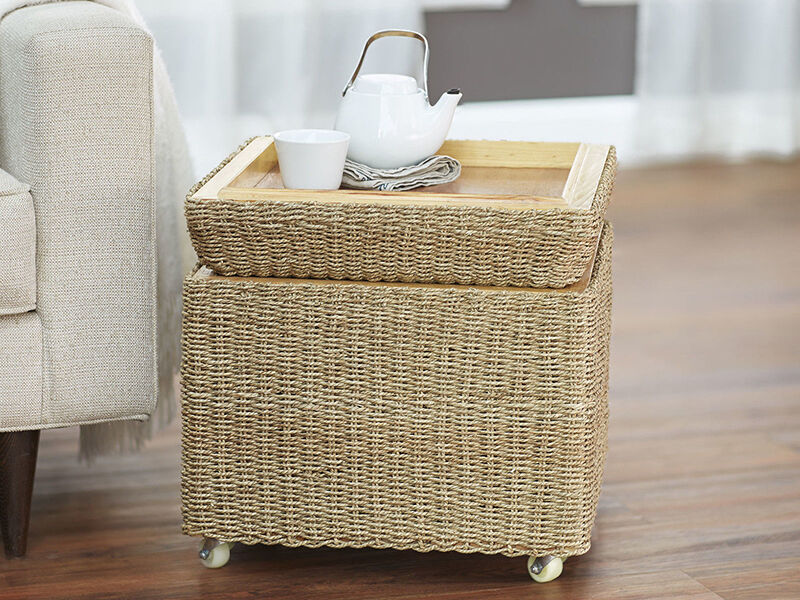 How To Paint Seagrass Furniture
