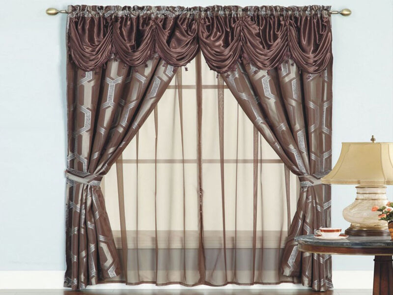 Wonderful How To Make Victorian Curtains