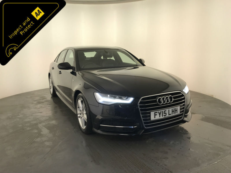 2015 AUDI A6 S LINE TDI ULTRA DIESEL AUTOMATIC 4 DOOR SALOON FINANCE PX  WELCOME