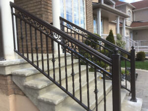 Glassu0026 Aluminum Interior/Exterior Railings