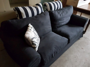 Ikea Ektorp Loveseat Sofa Bed.