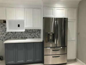 Kitchen Cabinet Refinishing Spray Painting 416 881 3583