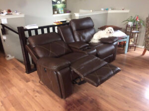 Dual Motorized Recliner w/ cup holders and cubby & Recliner | Buy or Sell Chairs u0026 Recliners in Red Deer | Kijiji ... islam-shia.org