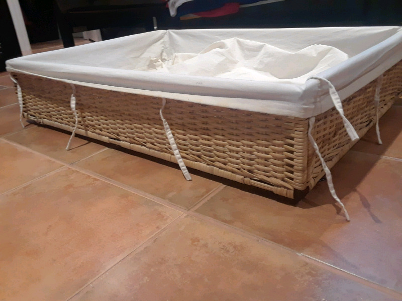 Description. For sale today is an under the bed storage container made by Ikea. & IKEA DEGENERES Under-the-bed Storage Container 36x26x8   Storage ...