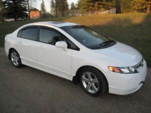 2007 HONDA CIVIC ALL OPTIONS LOW MILAGE