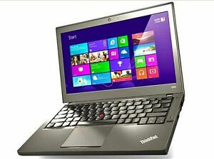 Now in stock limited quantities, Lenovo X240 laptop , i5-4300, 8gb , 500gb, 12.5 screen, win 10 pro.