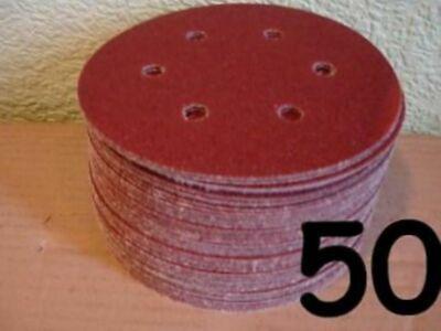 150mm Sanding Discs for Velcro - 6