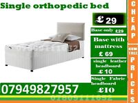 single ortopaedic Base Double and kingsize Bedding