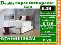 SHAM Double Single King Size Small Double Base Super Orthopedic Base Frame Bedding