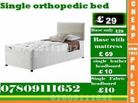 single Bed base with Mattress / Double / kingsize also available