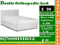 New Single Bed base with Mattress / Double / kingsize also available