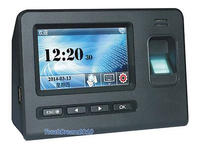 New Generation Touch Pad Biometric Fingerprint Time Attendance Access Control