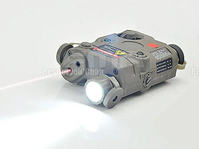 Tactical PEQ-15 High Power LED Flashlight Red Laser Sight for AEG GBB CQB