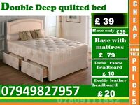 Single, Double and King Size Base available , Bedding