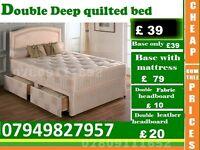 Single / Double / King Size Base base with Bedding