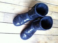 UGG boots, black
