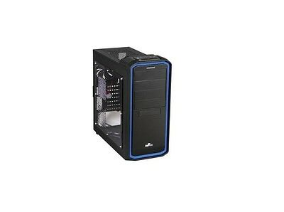 Enermax Black Atx Computer Case - Enermax - ECA3253-BL Ostrog Mid Tower ATX Computer Case BLK/BLUE w/Window Panel