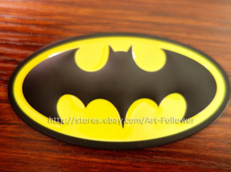 1P 3D Metal Decal Emblem Batman Auto 3M Decor Car Truck Auto Motor Sticker New